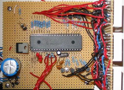 Clock circuit board